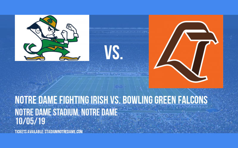 Notre Dame Fighting Irish vs. Bowling Green Falcons at Notre Dame Stadium