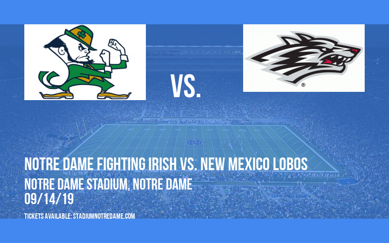 PARKING: Notre Dame Fighting Irish vs. New Mexico Lobos at Notre Dame Stadium