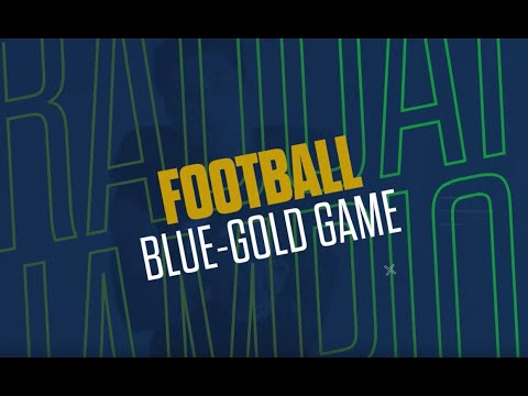 Notre Dame Fighting Irish Blue & Gold Game at Notre Dame Stadium