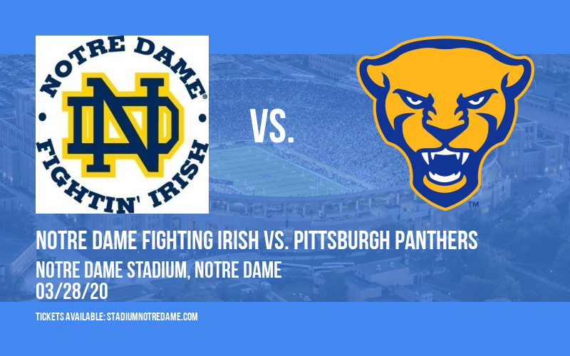 Notre Dame Fighting Irish vs. Pittsburgh Panthers at Notre Dame Stadium