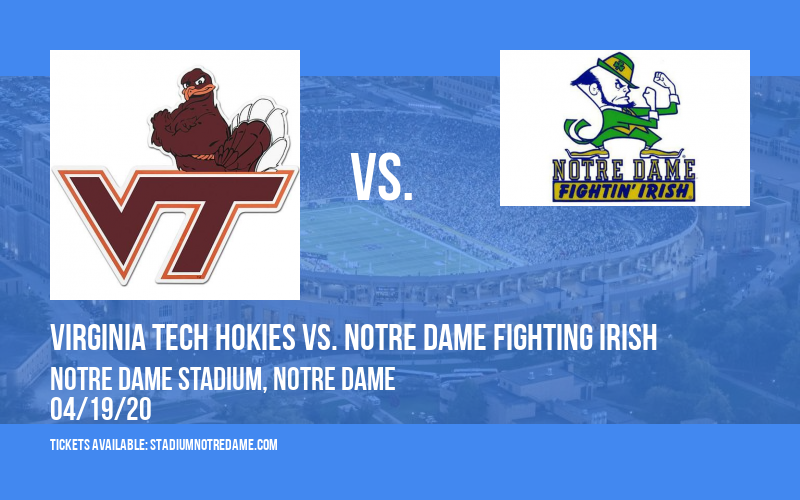 Virginia Tech Hokies vs. Notre Dame Fighting Irish at Notre Dame Stadium