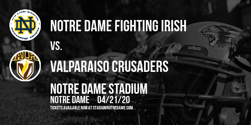 Notre Dame Fighting Irish vs. Valparaiso Crusaders at Notre Dame Stadium