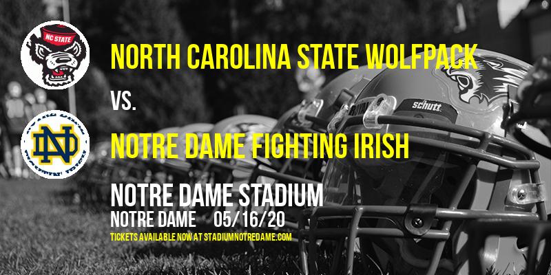 North Carolina State Wolfpack vs. Notre Dame Fighting Irish at Notre Dame Stadium