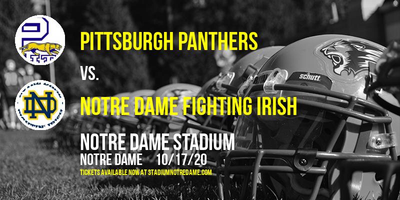 Pittsburgh Panthers vs. Notre Dame Fighting Irish at Notre Dame Stadium