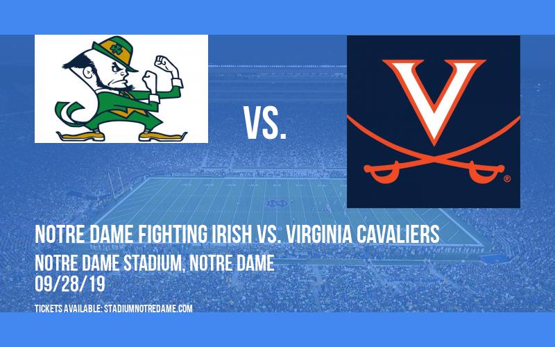 Notre Dame Fighting Irish vs. Virginia Cavaliers at Notre Dame Stadium