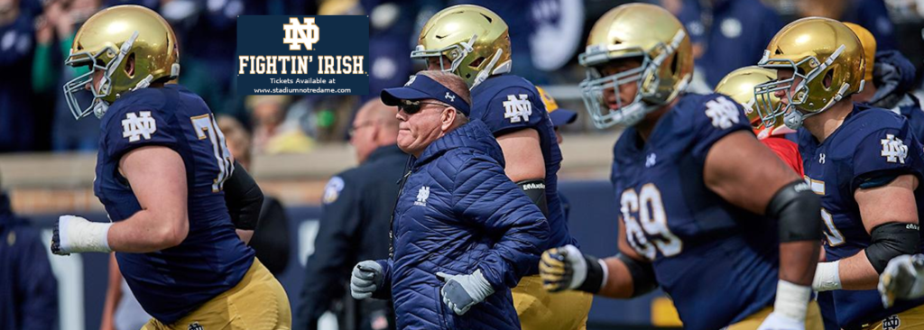 Notre Dame football tickets