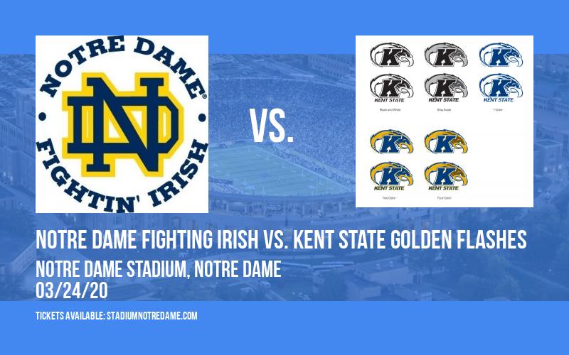 Notre Dame Fighting Irish vs. Kent State Golden Flashes at Notre Dame Stadium