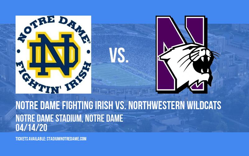 Notre Dame Fighting Irish vs. Northwestern Wildcats at Notre Dame Stadium