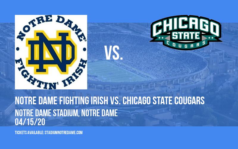 Notre Dame Fighting Irish vs. Chicago State Cougars at Notre Dame Stadium