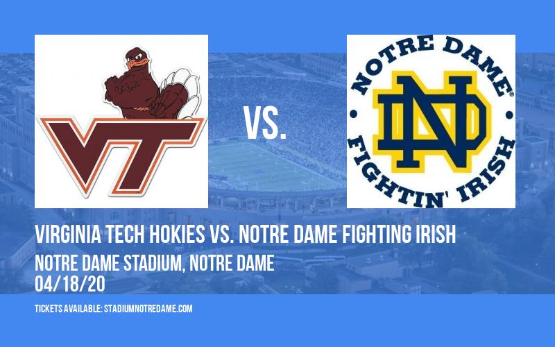 Virginia Tech Hokies vs. Notre Dame Fighting Irish at Notre Dame Stadium