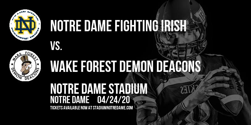 Notre Dame Fighting Irish vs. Wake Forest Demon Deacons at Notre Dame Stadium
