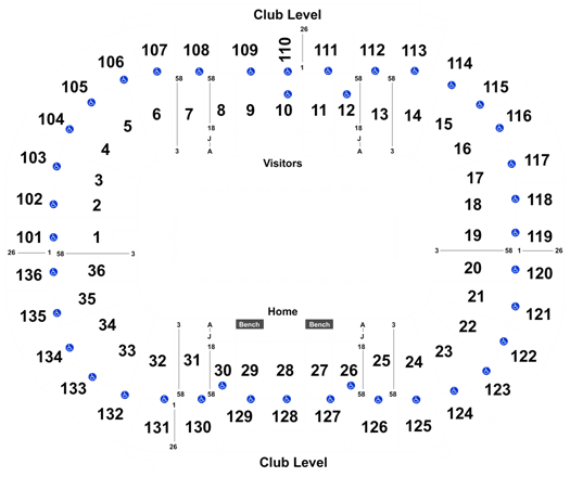2020 Notre Dame Fighting Irish Football Season Tickets (Includes Tickets To All Regular Season Home Games) at Notre Dame Stadium