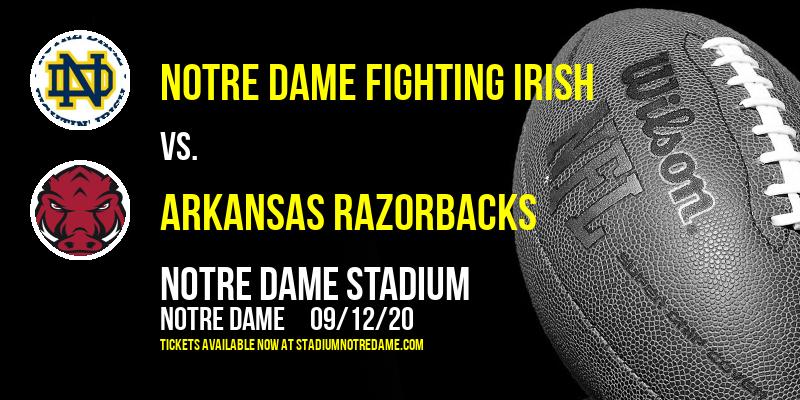Notre Dame Fighting Irish vs. Arkansas Razorbacks at Notre Dame Stadium
